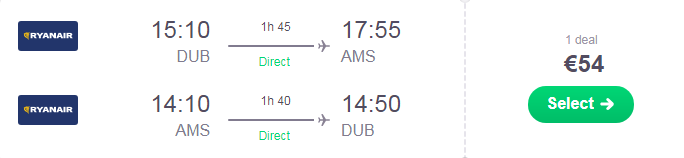 Paddy S Day In Amsterdam Flights From Dublin And 3 Nights In A 4